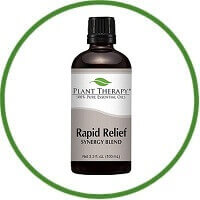 Plant Therapy Rapid Relief Synergy Blend