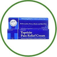 Topricin Homeopathic Pain Relief and Healing Cream